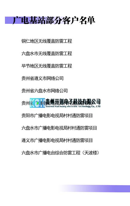 贵州广电基站万博app手机版官网下载工程典型案例